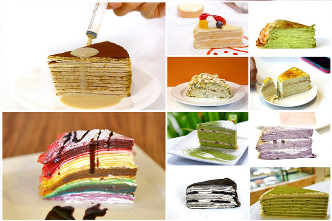 14 Gorgeous Mille Crêpe Cakes In Singapore - Love Them Layer By Layer
