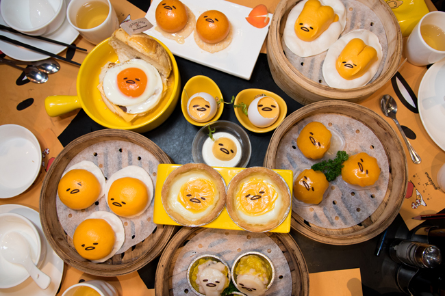 Dim Sum Icon – World's 1st Gudetama Dim Sum Restaurant, Too Kawaii!