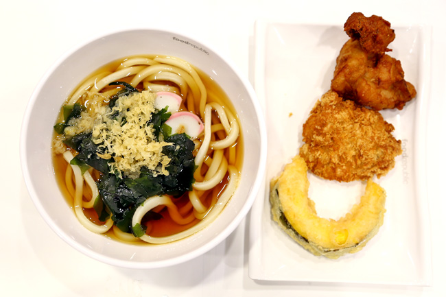 Menmaru Japanese Udon & Ramen - Another Udon Stall With Fried Items