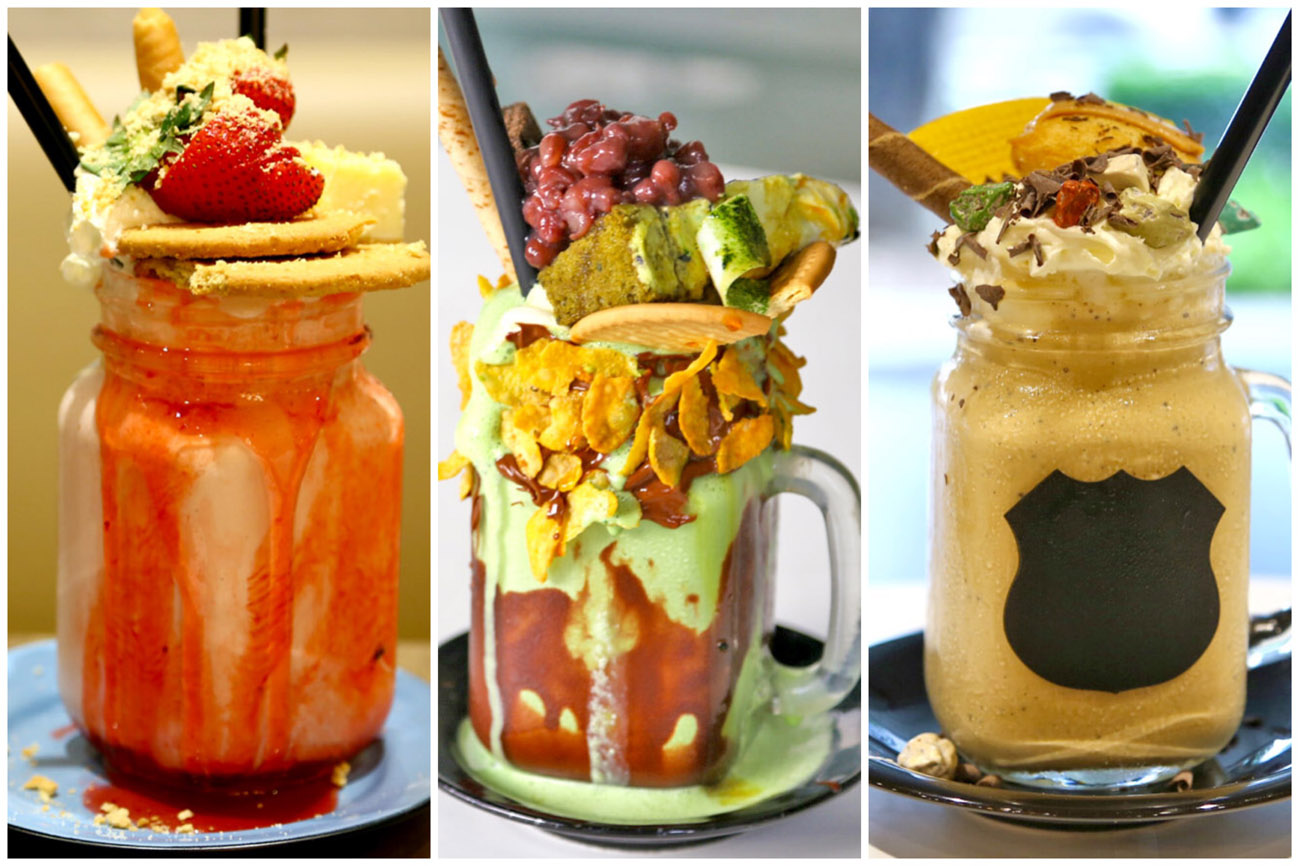 5 Best Over The Top Milkshakes In Singapore