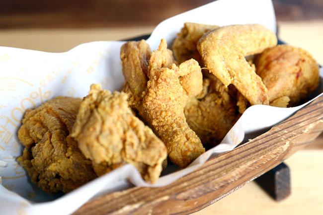 oven fried chicken korean fried rice chicken restaurant at