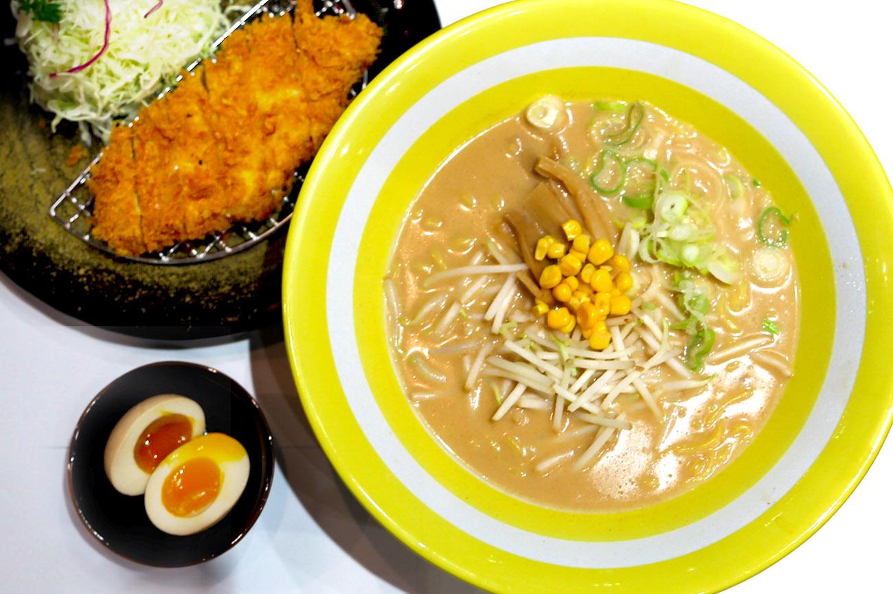 Ramen & Tonkatsu Ma Maison - Hokkaido Cheese Ramen At Capitol Piazza