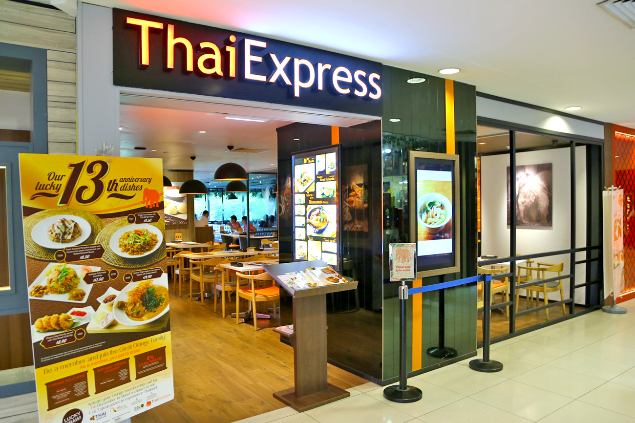 ThaiExpress – New Look, New Dishes, New Orange Card