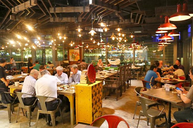 The East Bureau Modern Asian Restaurant On Marina Square