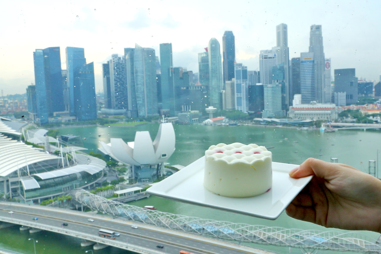 The Singapore Flyer Premium Sky Dining – An Experience Both Romantic & Beautiful