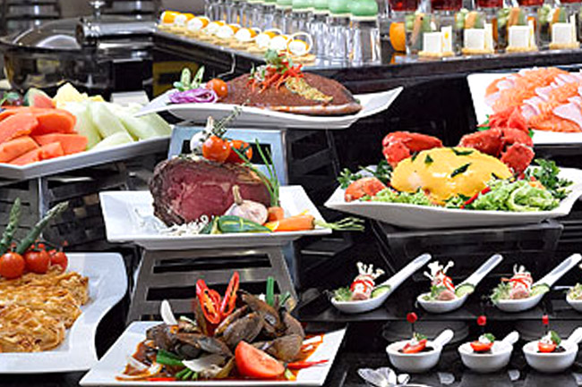 Cafe Mosaic Lunch Buffet Price