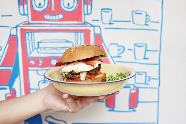 Free the Robot – Oh, Cute. A Robot-Themed Cafe. $3 Truffle Fries?