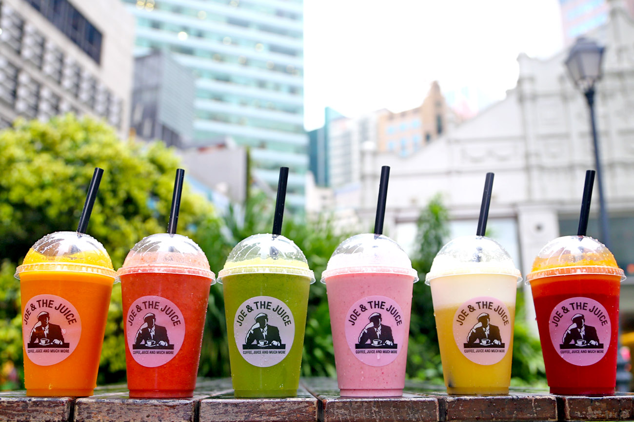 Joe & The Juice - Great Tasting Fresh Juices With Loads Of Fun At The CBD