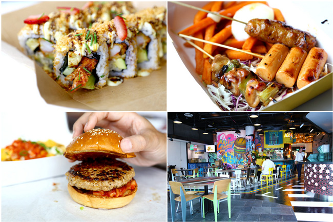 PasarBella - Gourmet Space Opens At Suntec With NYC Food Truck Type Selections