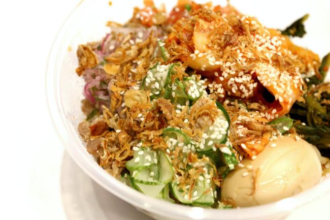 SSÄM - Korean Meets Mexican Salads, Burritos and Kimchi Rice Bowls