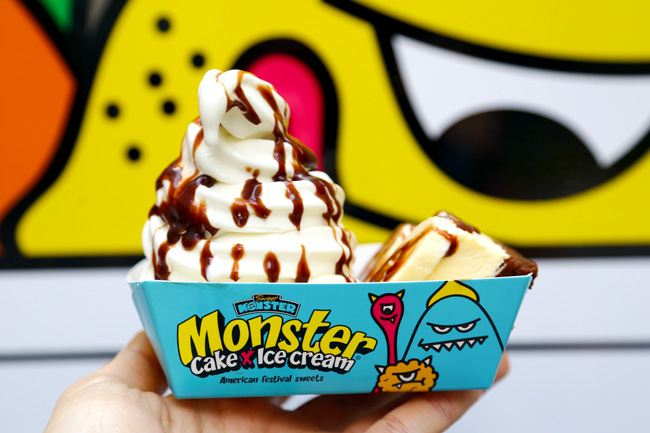 Sweet Monster Softserve With Cake Sends You On A Sugar