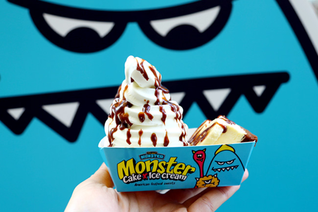 Sweet Monster - Softserve With Cake At Bugis Junction, Sends You On A Sugar High
