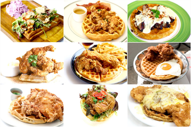 10 Chicken Waffles In Singapore, Including One That Is $4.50! Yes, $4.50!!