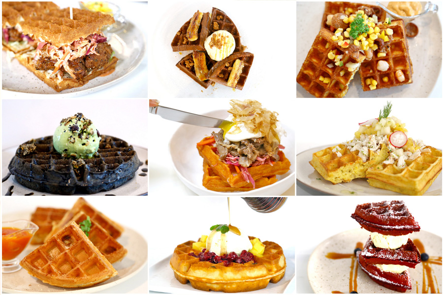 Montana Singapore - 10 Best Waffles From This Chic Coffee Shop. Must Try The Coconut Cold Brew
