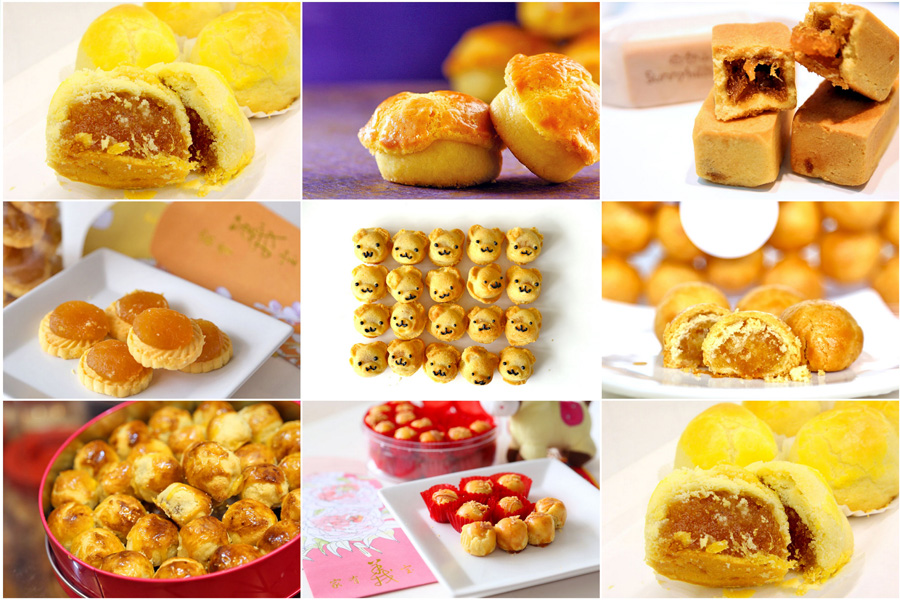 8 Favourite Pineapple Tarts for Chinese New Year