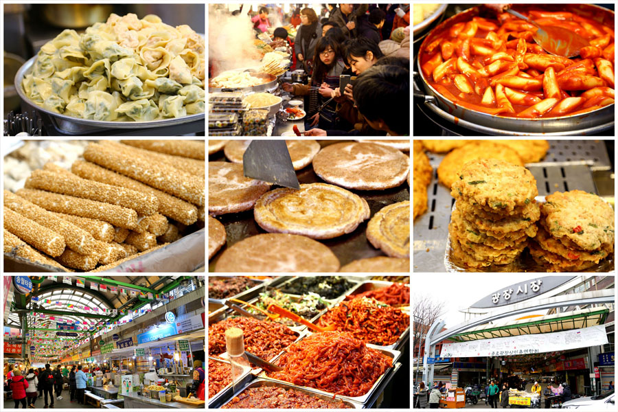 Gwangjang Market 광장시장 - For Korean Street Food From Pancakes, Kimbap To Live Octopus