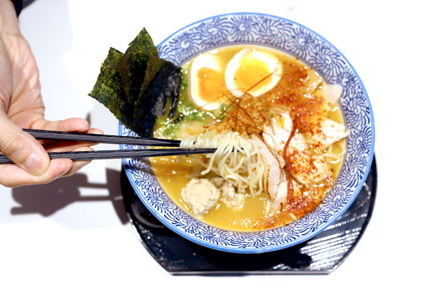 Menya Takeichi - Tokyo's No 1 Collagen Rice Chicken Ramen Chain At Suntec City