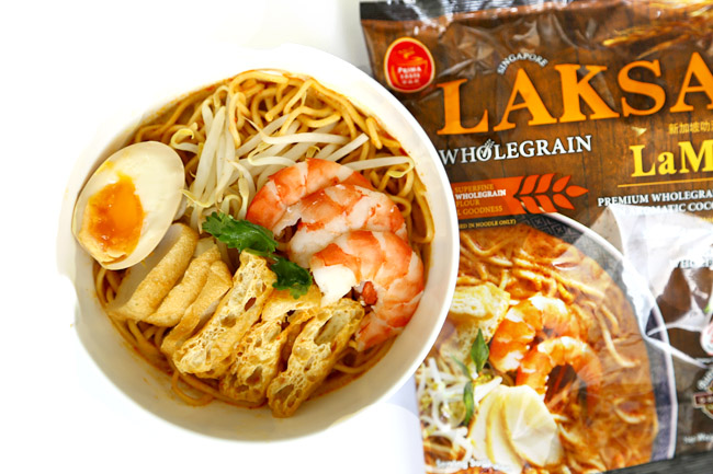 Prima Taste Laksa & Curry LaMian – Same Great Taste, Healthier With Wholegrain LaMian