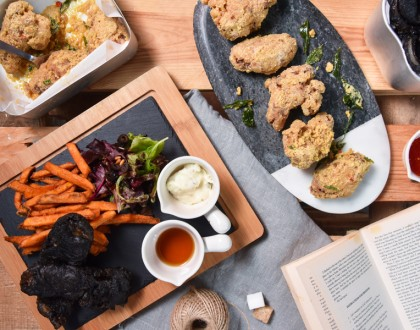 The Pipe District – Pipe Themed Restaurant Serves Salted Egg Wings and Charcoal Fish & Chips