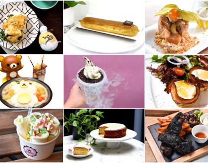 10 New Cafes In Singapore March 2016 - Takeaway Bingsu, Charcoal Fish and Cartoon Food