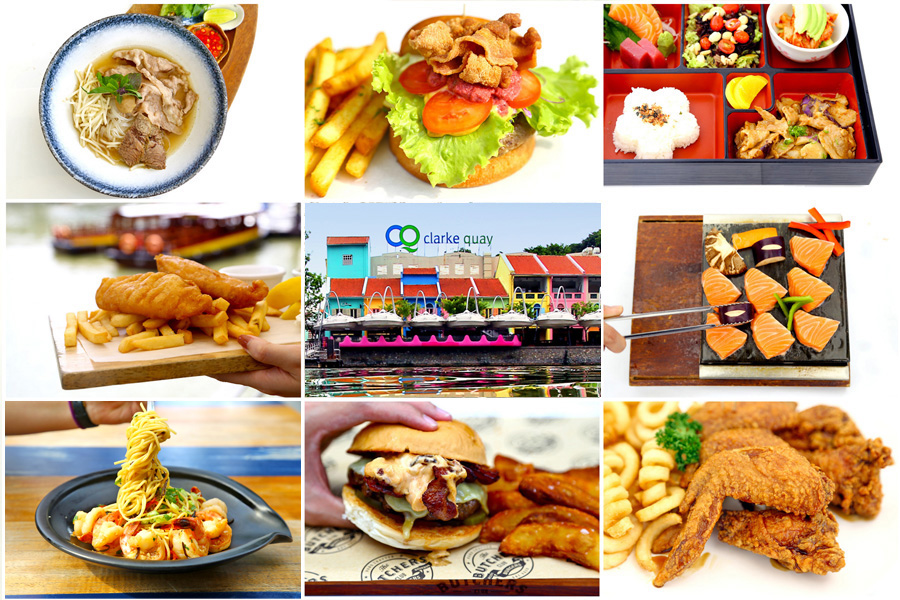 Clarke Quay – All These Restaurants With Quality Affordable Set Lunches. $10, $15, $25 and 1-for-1 Meals!