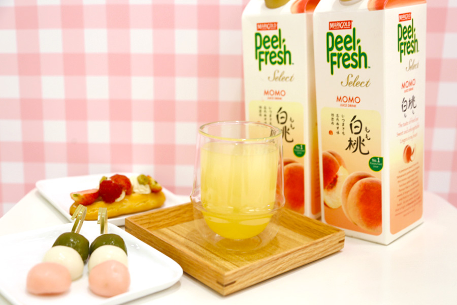 MARIGOLD PEEL FRESH Select Momo – The Taste Of Japanese Peaches and First Love