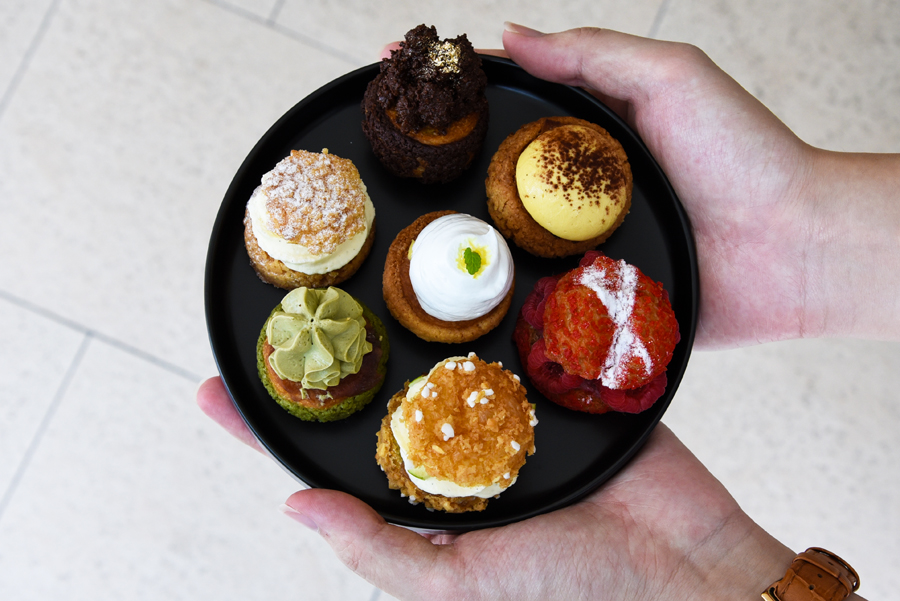 Ollella – Colourful Choux Pastries, With Pourover Coffee From The Pourover Bar