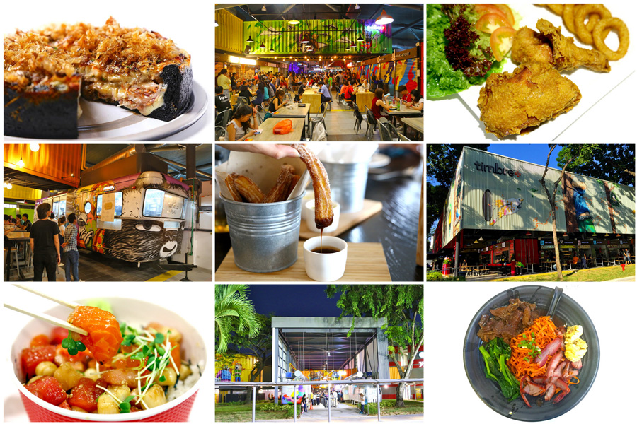 Timbre+ - 1st Container & Food Truck Food Place In Singapore. 35 Restaurant Brands & Hawker Stalls