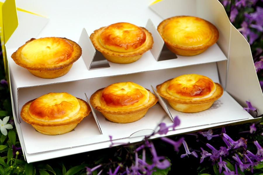 Bake Cheese Tart Singapore – Popular Hokkaido Cheese Tart At ION Orchard