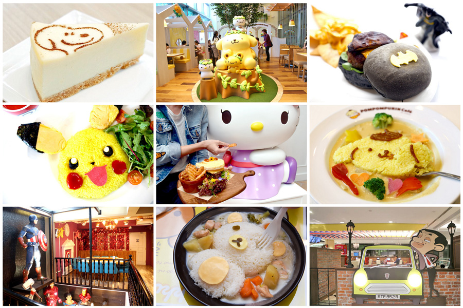 9 Character Cafes In Singapore - Hello Kitty, Pokemon, Gudetama, Who Are You Rooting For?