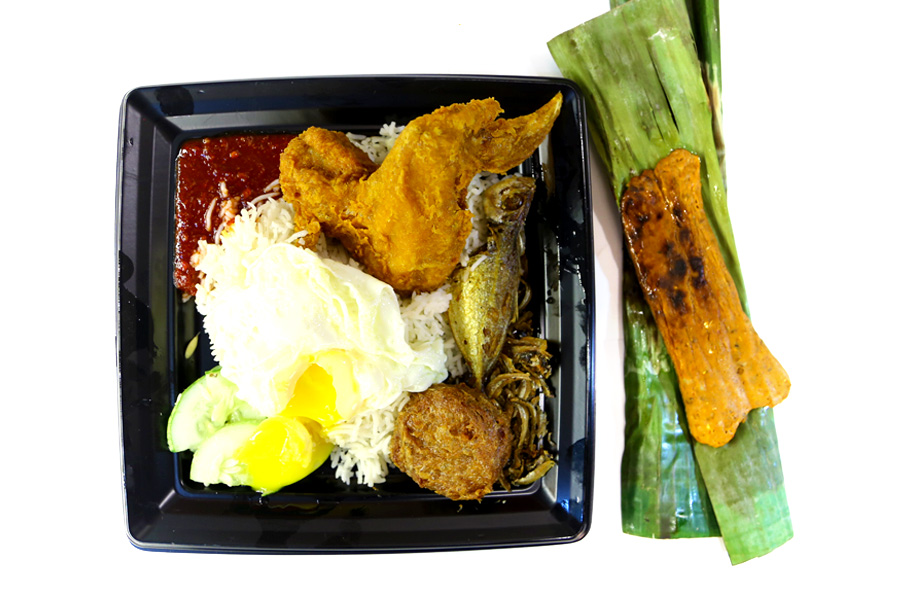 CRAVE - Adam Road Nasi Lemak & Amoy St Teh Tarik, The Best Of Both Worlds At ION Orchard