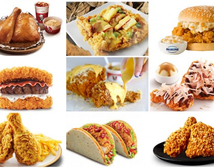 10 Unique KFC Food From Around The World, And One Of It Is From Singapore!