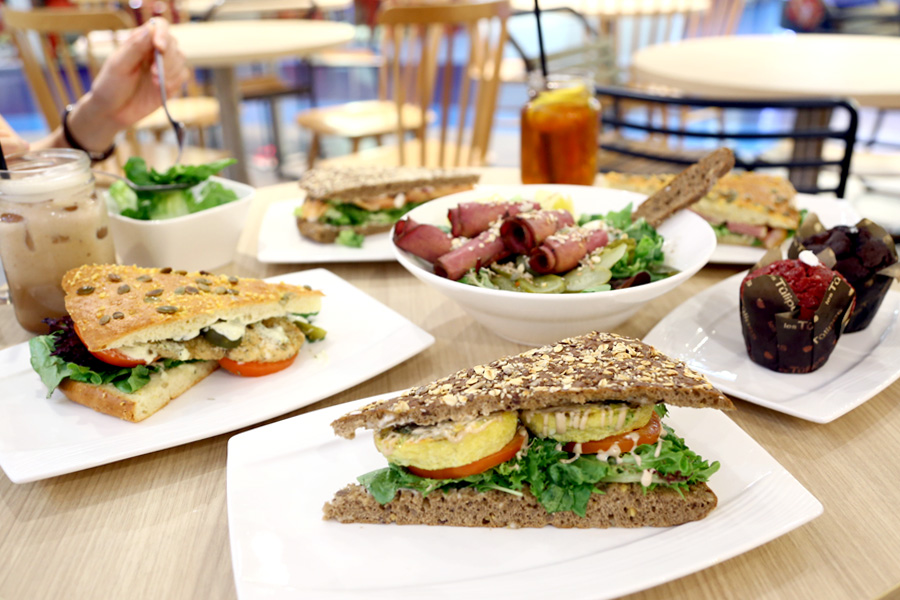 Kraftwich – Sandwich Looking Like A Pizza, New Healthy Café At Raffles Place To Check Out