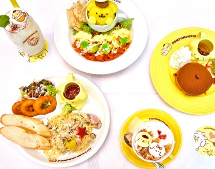 [Closed] Pompompurin Café Singapore - Kawaii Garden Theme Cafe At Orchard Central, Closing 20 August 2017