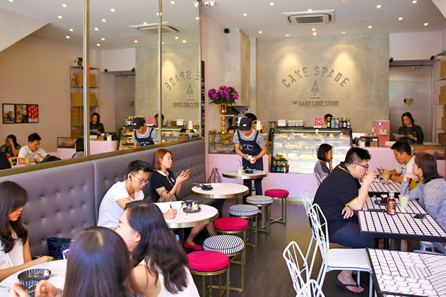 Cake Spade – Bigger, Better, More Beautiful Space Down Tanjong Pagar