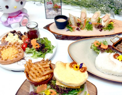 Hello Kitty Cafe Singapore - Orchid Garden Opening May 12, Changi Airport Terminal 3