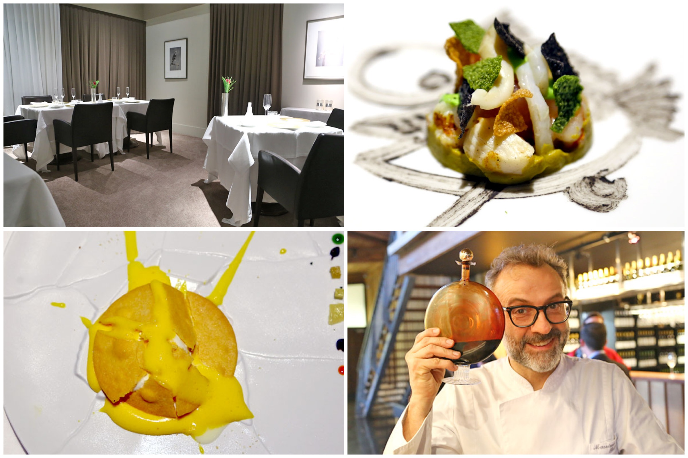 Osteria Francescana - The World's Best Restaurant 2018 and Best Restaurant In Europe, At Modena Italy