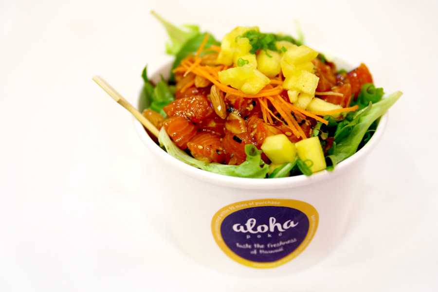 Aloha Poké - Healthy Hawaiian Poké Bowls At Marina Bay Link Mall