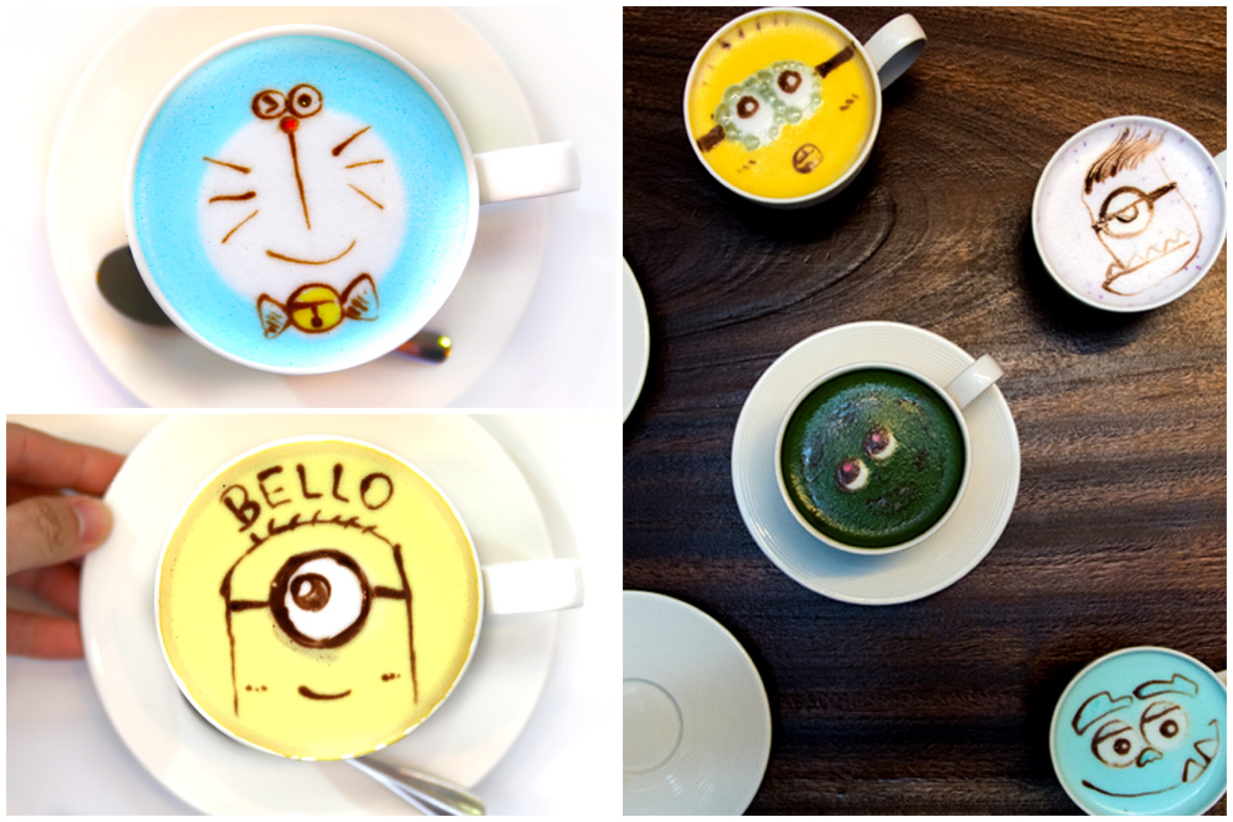 Café R&C - Get The Cutest LEGIT Latte Art Here, At Causeway Bay Hong Kong