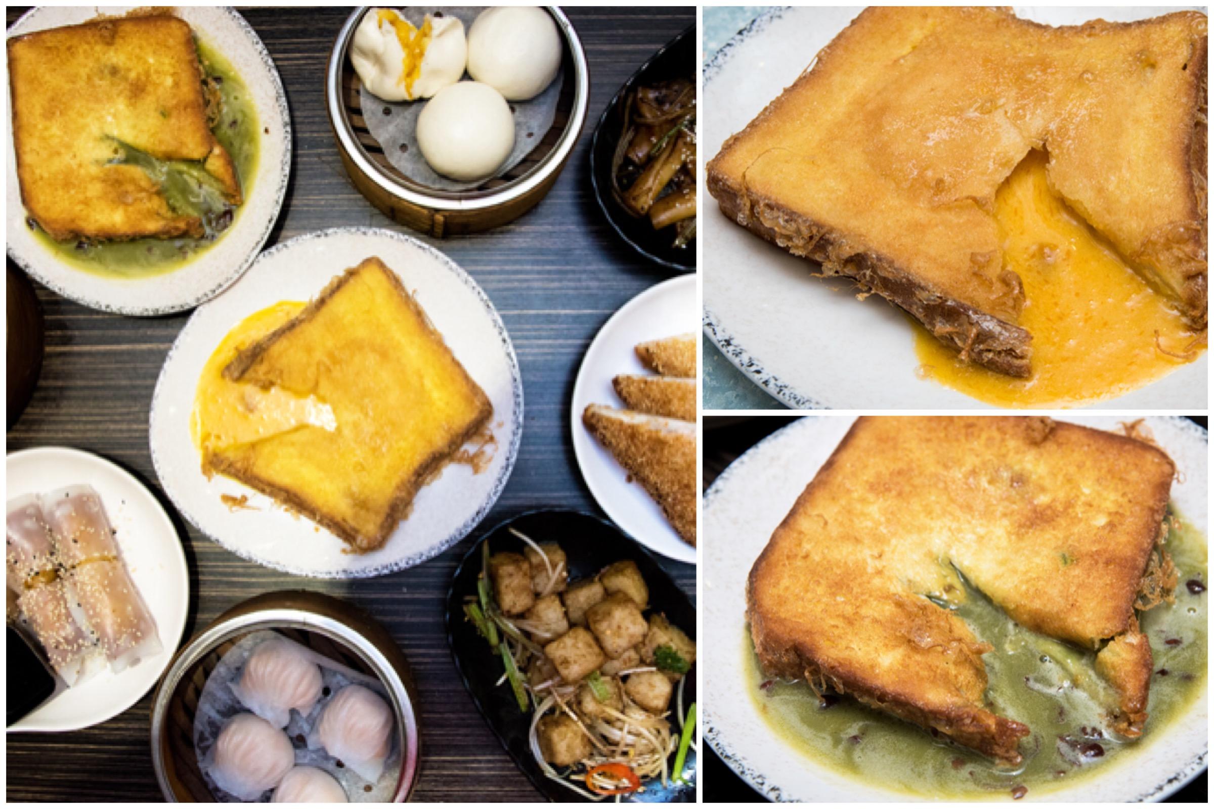 Chau Kee 周記點心 – Matcha And Salted Lava Custard Toasts, At Hong Kong Sai Ying Pun