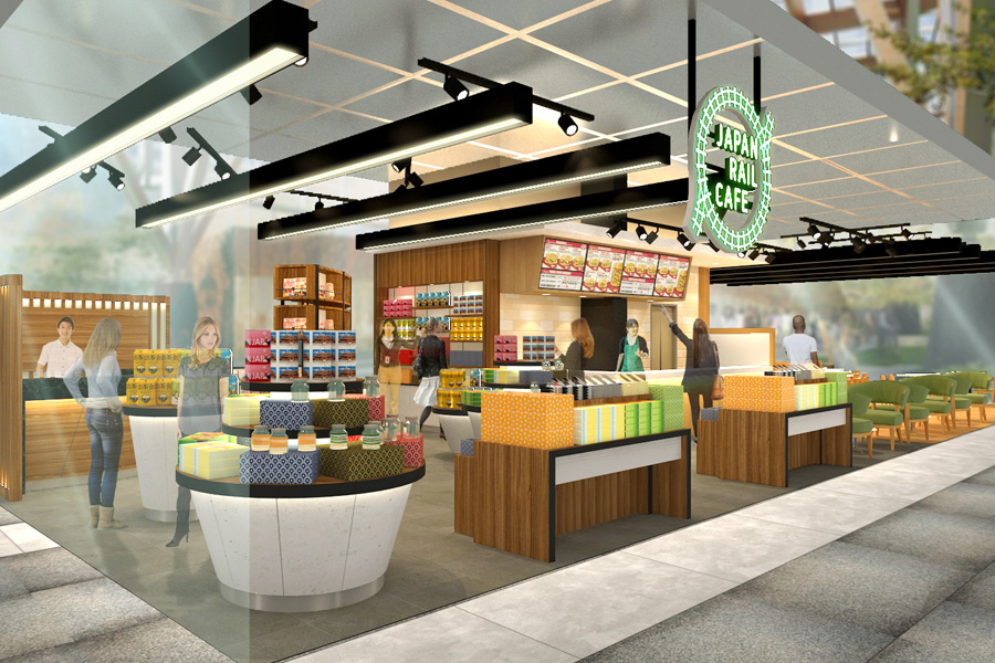 Japan Rail Café – JR EAST Will Open Japanese Themed Café At Tanjong Pagar Centre