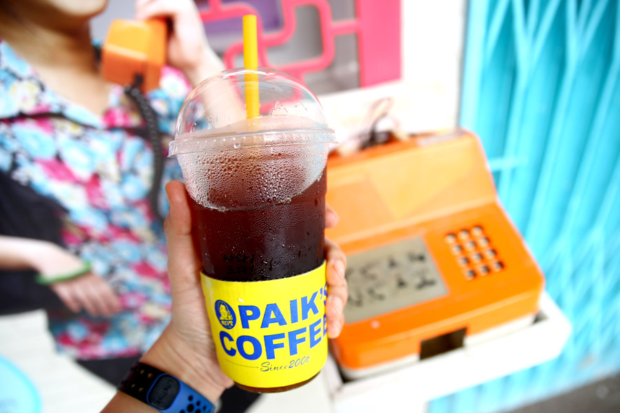 Paik's Coffee - Cheap, Big Cups Of Korean Coffee at Tiong Bahru Plaza
