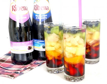 Rainbow Ribena 'Sangria' – The Prettiest Thirst-Quencher You Can Make This Summer