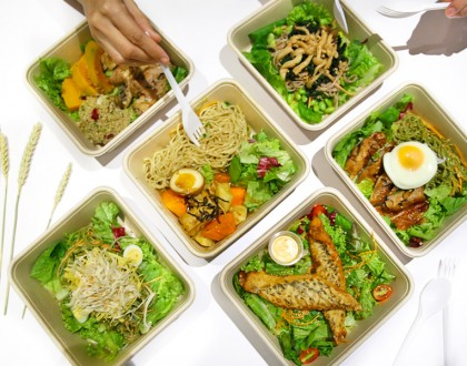WHEAT - Japanese Inspired, Affordable, Low Calorie Salads At Raffles City