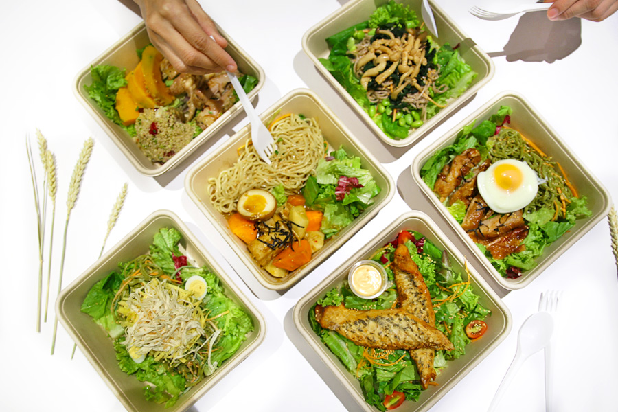 Wheat Japanese Inspired Affordable Low Calorie Salads At