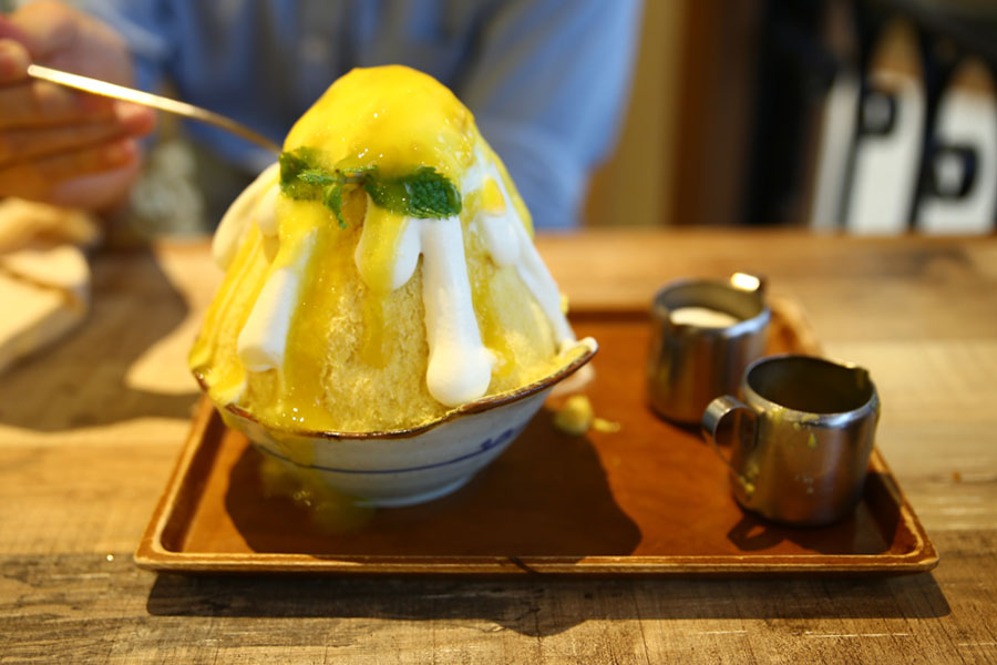 After You Mango Sticky Rice Kakigori Is The Bomb The