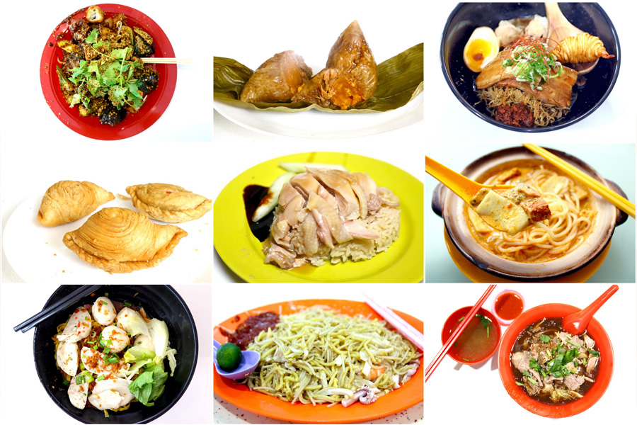 17 Singapore Michelin Bib Gourmand Hawker Stalls - The Best Local Food Delights