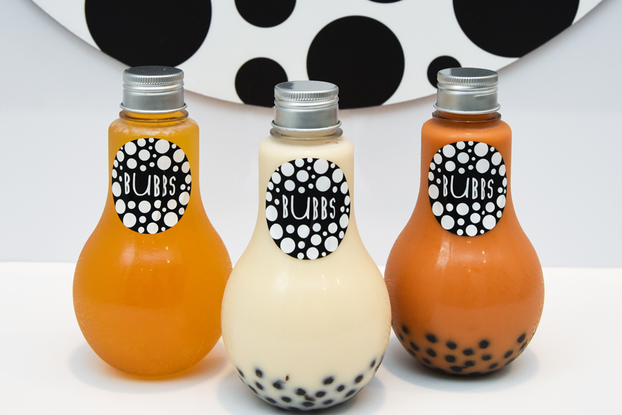 Bubbs – Bubble Tea In Light Bulbs Bottles Brightened Up Our Day