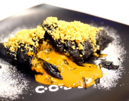 CODE Café Of Dessert Enthusiasts – Thai Tea Lava Croissant and Salted Egg Lava Toast