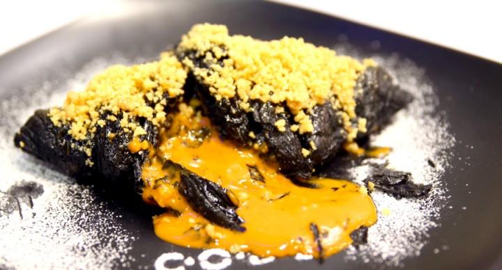 CODE Café Of Dessert Enthusiasts – Thai Tea Lava Croissant and Salted Egg Lava Toast